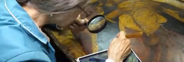 Столичні реставратори знайшли під іконою 18-го сторіччя ще одну, датовану 17-им