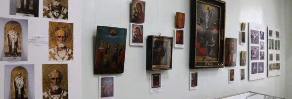 Фотозіт про монтування та відкриття виставки «Відроджені скарби Балаклійщини»
