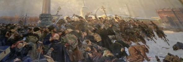 Хроніка реставрації полотна Войцеха Коссака «Кривава неділя у Петербурзі 9 січня 1905 року» в Кіровоградському обласному художньому музеї