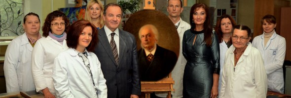 Візит Мішеля Терещенко до Національного науково-дослідного реставраційного центру України