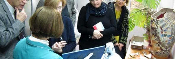 Візит до Національного науково-дослідного реставраційного центру України представників Змішаної українсько-німецької комісії