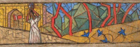 Інформація про представлені на виставці «Повернення з небуття» роботи із Запорізького обласного художнього музею