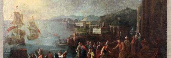 Реставрація картини «ІСТОРИЧНИЙ СЮЖЕТ»