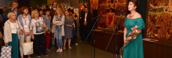 Фотозвіт про відвідання учасниками Конференції експозиції виставки «Погляд крізь віки. Дослідження та реставрація»