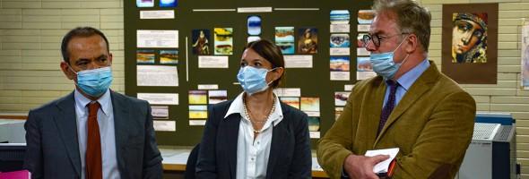 Візит поважних італійських гостей до Національного науково-дослідного реставраційного центру України