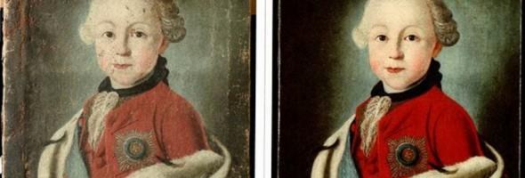 Реставрація картин з Лебединського міського художнього музею імені Б.К. Руднєва