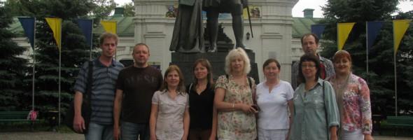 Обстеження експонатів Полтавських музеїв співробітниками Харківської філії