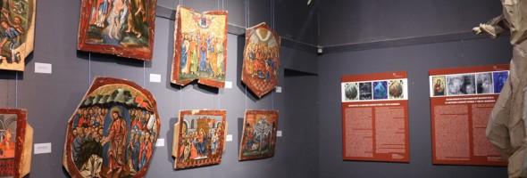 Нове життя іконостаса з церкви Святої Трійці в місті Жовква