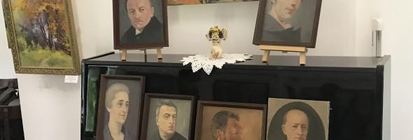 Повернення робіт до Обласного комунального музею Богдана Лепкого в м. Бережани після реставрації