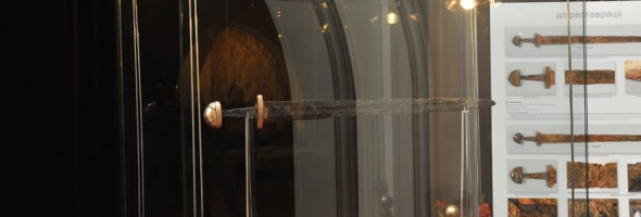 Фотозвіт відкриття виставки-презентації «Княжий меч на шляху із варяг у греки. Історія. Дослідження. Реставрація»
