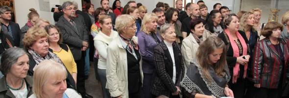 Фотозвіт відкриття виставки «Відроджені святині православ'я»