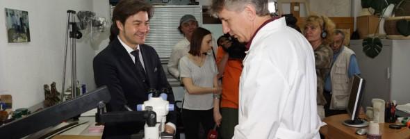 Візит Міністра культури Євгена Нищука до  Національного науково-дослідного реставраційного центру України