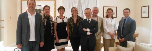 11 липня 2019 року Національний науково-дослідний реставраційний центр України приймав поважних гостей