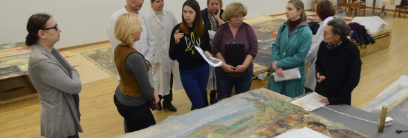 За лаштунками Національного художнього музею України