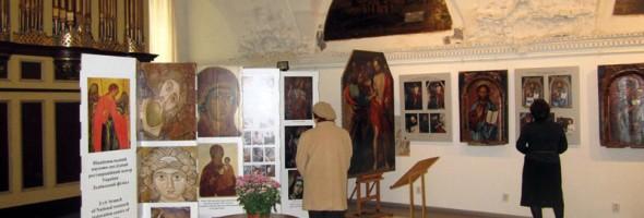 У Львівському музеї історії релігії триває виставка відреставрованих робіт художників-реставраторів Львівської філії ННДРЦУ