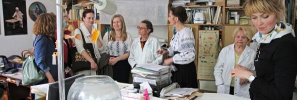 Національний науково-дослідний реставраційний центр України відвідали реставратори з Великобританії