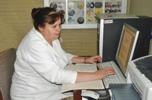 Распопіна Віра Олексіївна, завідувач наукового відділу фізико-хімічних досліджень