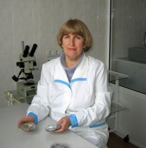 Митківська Тетяна Іванівна, завідувач наукового відділу біологічних досліджень