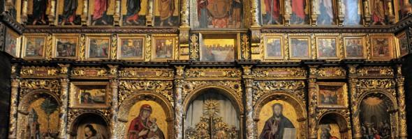 Повернення відреставрованих ікон 1650 р. до церкви-музею Зішестя Святого Духа в Рогатині – філії Музею мистецтв Прикарпаття